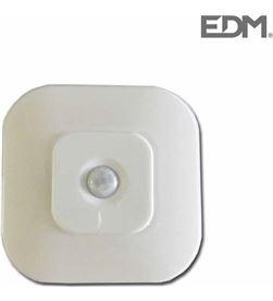 Edm linterna para pared con sensor 8 leds 8425998360974 - 36097