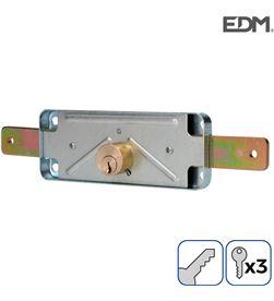 Edm cerradura persiana 154mm 3 llaves incluidas 8425998852608 - 85260
