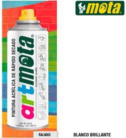 Mota spray blanco mate ral9003 216ml la05 8435223416406 - 39903