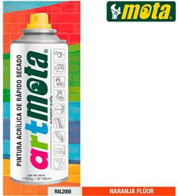 Mota spray naranja fluorescente ral2005 216ml la61 8435223416338 - 39921