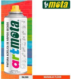 Spray naranja fluorescente ral2005 216ml Mota la61 8435223416338 - 39921