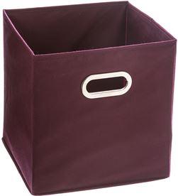 5 caja organizadora color morado para estanteria 31x31cm 36023893161 - 83191