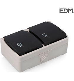 Edm E64035 base doble tt/l estanco envasado 8434259004243 - E64035