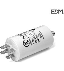 Konek condensador mka 50 uf 5% 450 v 50x94 con espiga m8 y faston doble 8425998630084 - 63008