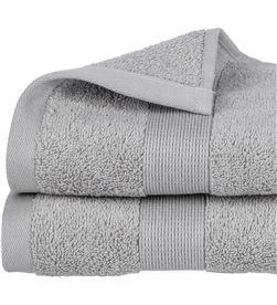 Atmosphera toalla de rizo 450gr color gris 50x90cm 3560239469773 - 68016