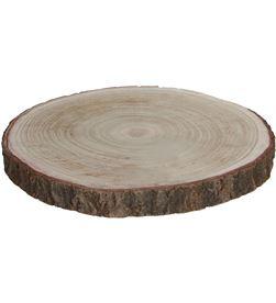 Mica base decorativa tronco de madera altura 3cm 8718861027938 - 83249