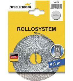 Schellenberg cinta de persiana 23mmx6mts gris 4003971361022 - 87005