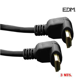 Conexion hdmi supra acodada 3m Edm 8425998512328 MATERIAL INFORMATICA - 51232