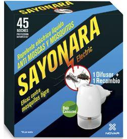 Novar repelente electrico sayonara anti moscas mosquito comun y tigre uso interio 8437004209566 - 06215