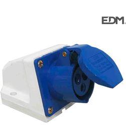 Edm base superficie 2 p+t 16a 8425998460117 PEQUEÑO MATERIAL ELÉCTRICO - 46011