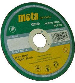 Mota disco corte a inox 180x2.5x22.23mm d1825 8435223408715 - 39638