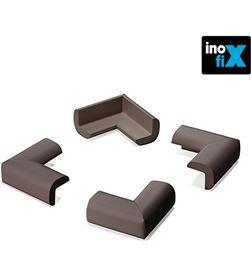 Inofix protector cantos acolchado marron (blister 4 unid) 8414419012608 - 66503
