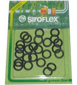 Siroflex blister 25 juntas toricas de goma (recambio conexion rapida de riego) 8011568042366 - 74955