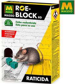 Masso raticida roe-block plus 260 gr. massó 8424084008738 - 06342