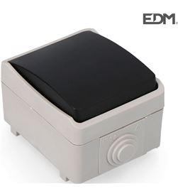 Pulsador estanco economico retractilado Edm ip44 8425998640328 - R64032