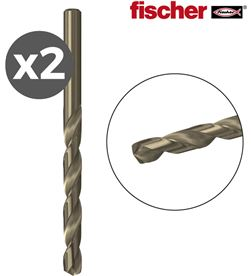 Pack 2 brocas metal hs co 4,0x43/75 / 2k Fischer 4048962203387 - 96235