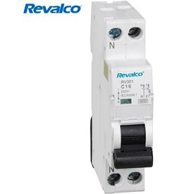 Revalco magnetotermico 1polo+ neutro 20a (estrecho) 8425998025675 - 02567