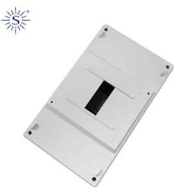 Solera caja para distribución1 elemento empotrar 115x188x55mm 8425998610604 - 61060