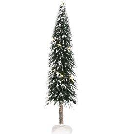 Black arbol navidad nevado con led integrado 8718861816068 - 72173