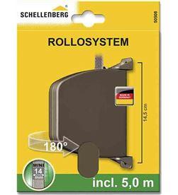 Schellenberg recogedor exterior abatible 28x159x120mm marron giratorio 180º 4003971505082 - 87051