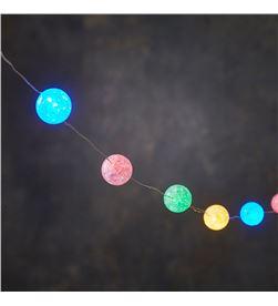 Luca guirnalda de bolas multicolor 30 leds 300cm 8718861488814 - 71076
