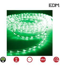 Edm tubo flexiled led 2 vias fijo 30leds/mts verde lumeco euro/mts 8425998714739 - 71473