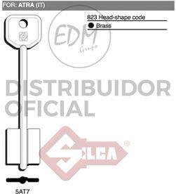 Silca llave doble pala 5at7 atra 8003737229913 LLAVES - 12633