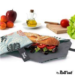 Boc'n'roll porta bocadillos essential leaves 11x15cm 8414606816514 - 76982