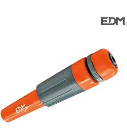 Lanza de riego regulable con abrazadera de 19mm 3/4 '' (blister) Edm 8425998745535 - 74553