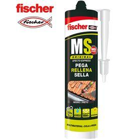 Ms sellante adhesivo negro Fischer 290ml 4048962013627 - 96004