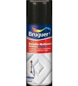 Bruguer esmalte multiuso spray mate negro 0,4l 8429656009298 - 25133