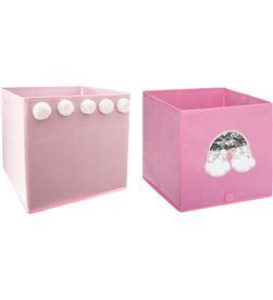 Atmosphera caja organizadora infantil para estanteria 29x29x29cm modelos surtidos 3560233815170 - 90373