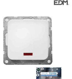 Interruptor empotrar luminoso''serie term'' Edm(bolsa blister) 8425998653113 - 65311