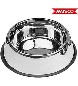 Nayeco comedero acero inoxidable antideslizante 0,9l 26cm 8427458802178 - 06890