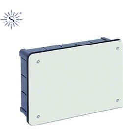 Solera caja rectangular 300x200x60mm con tornillos retractilado 8425998601169 - 60116