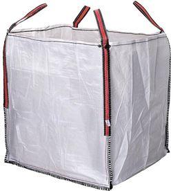 Fun big bag escombros 90x90x90cm blanco aguanta hasta 1000kg 8435584416572 - 90121