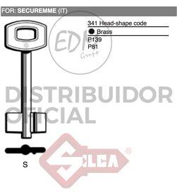 Silca llave doble pala s securemme 8003737128834 Ofertas - 12664