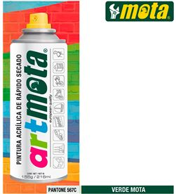 Mota spray verde pantone 567c 216ml la16 8435223416277 - 39911