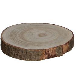Mica base decorativa tronco de madera altura 3cm 8718861027921 - 83248