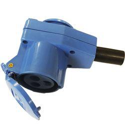 Gimeg adaptador cetac monofasico/schuko para cable 2p + t 16a 8712757398850 - 46018