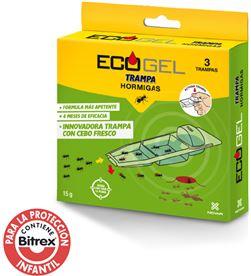Novar ecogel hormigas kit 3 trampas 15gr. 8437004209207 - 06236
