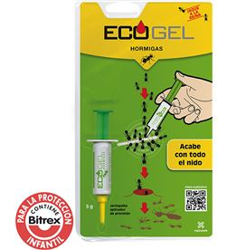 Novar ecogel hormigas 5gr. jeringa 8437004209900 MATAMOSQUITOS AHUYENTADORES - 06232