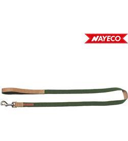 Nayeco correa verde-beige forest-british x-trm doble premium 120cm x 1cm 8427458018456 - 06973