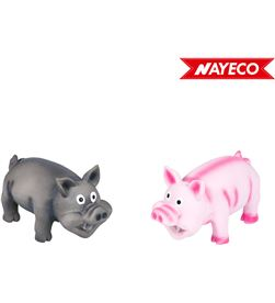 Nayeco cerdo de latex con sonido real 15cm colores surtidos 8427458830843 - 06908