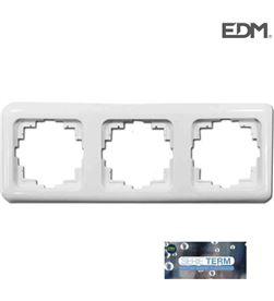 Marco tres elementos empotrar ''serie term'' Edm(bolsa blister) 8425998653229 - 65322