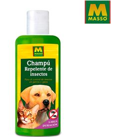 Masso champu repelente insectos para mascotas 250ml 8424084002125 - 06858