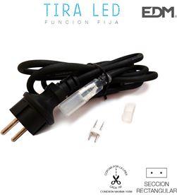 Edm 31925 #19 kit conexion a corriente 220v para tira de led 1,5mts 8425998319255 - 31925 #19