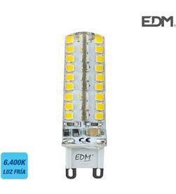 Edm 98918 #19 bombilla g9 silicona led 4,5w 300 lm 6400k luz fria 8425998989182 - 98918 #19