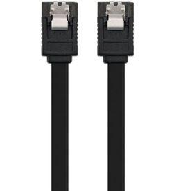 Cable sata iii con anclajes Nanocable 10.18.1001-BK - velocidad hasta 6gbp/ - 10.18.1001-BK
