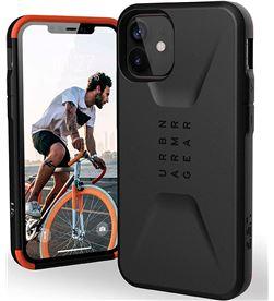 Todoelectro.es +23478 #14 uag civilian negro carcasa apple iphone 12 mini resistente iph12 mini fund - +23478 #14